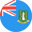 british, circle, country, flag, islands, nation, virgin icon