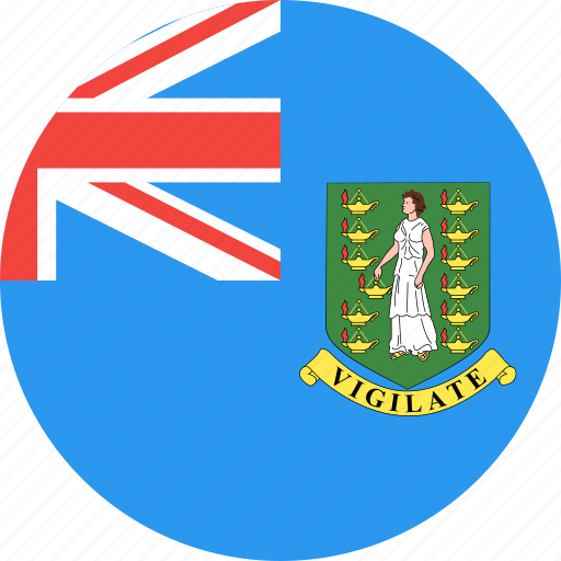 british, circle, country, flag, islands, nation, virgin icon