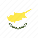 circle, country, cyprus, flag, nation icon