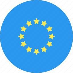 circle, country, europe, flag, nation icon