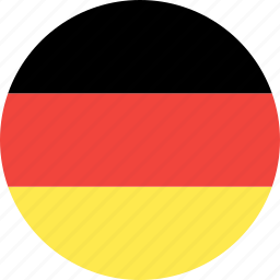 circle, country, flag, germany, nation icon