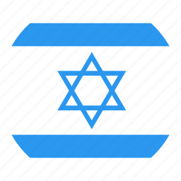 circle, country, flag, israel, nation icon