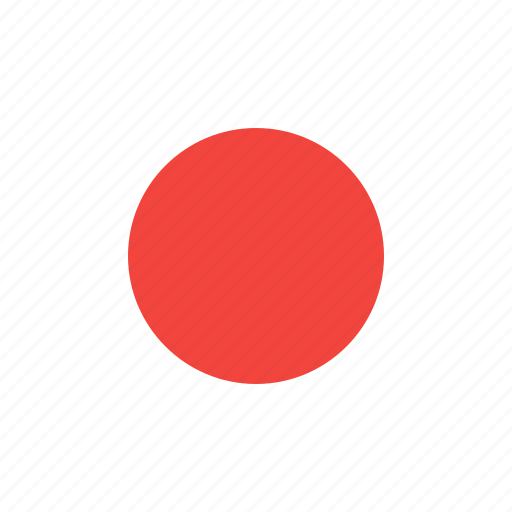 circle, country, flag, japan, nation icon
