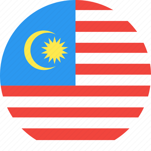 circle, country, flag, malaysia, nation icon