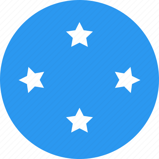 circle, country, flag, micronesia, nation icon