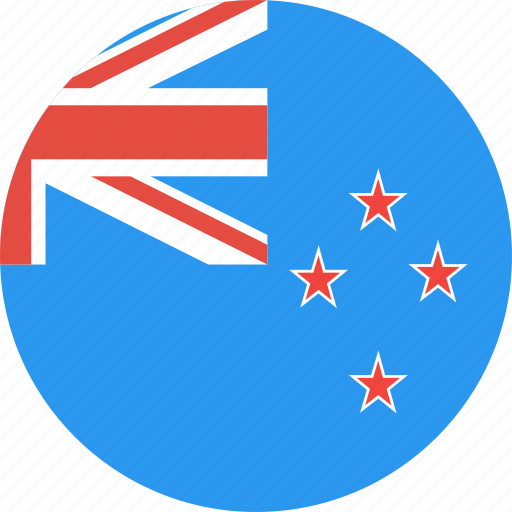 circle, country, flag, nation, new, zealand icon