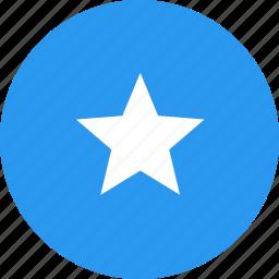 circle, country, flag, nation, somalia icon