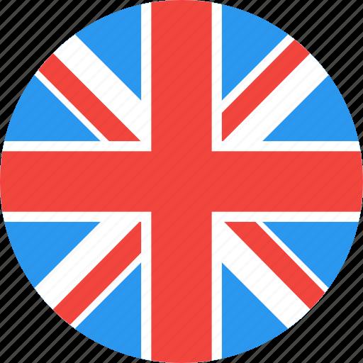 circle, country, flag, kingdom, nation, uk, united icon