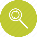 business, find, magnify, magnifying, object, replace, search icon