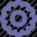 ribbon, badge, symbol, sign