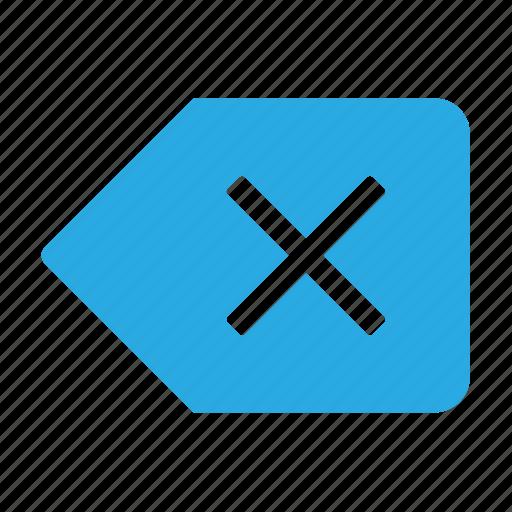 arrow, arrows, back, backspace, left, shape icon