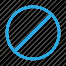 alert, attention, block, cancel, error, stop, warning icon