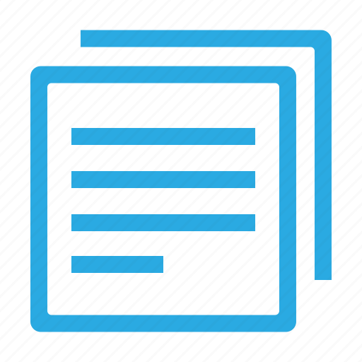 copy, document, documents, file, page, paper, text icon