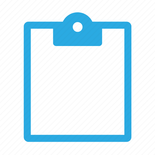checklist, clip board, clipboard, document, documents, paste, sheet icon