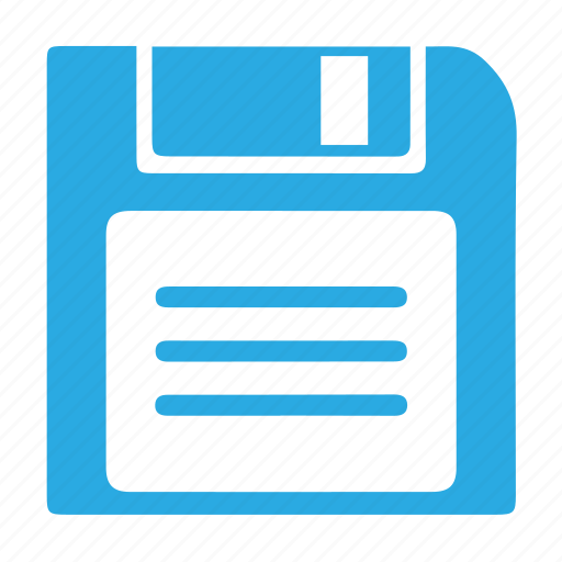 data, disk, diskette, drive, floppy, guardar, save, storage icon