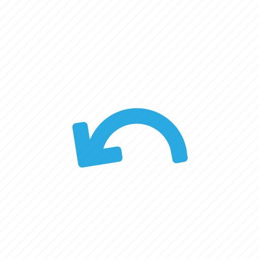 arrow, arrows, back, direction, left, reply, undo icon