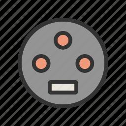 cables, editing, equipment, hdmi, usb, vga, video icon