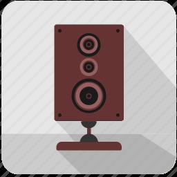 acoustic, hifi, listen, music, sound, speaker icon