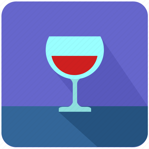 alcohol, bocal, cognat, drink, juice, wine icon