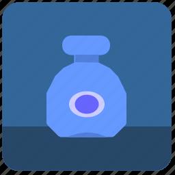 alcohol, bottle, cognat, drink, glass icon