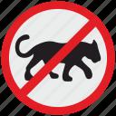 cancel, cat, danger, kill, puma, stop, tiger icon