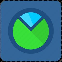 chart, data, metrics, report, statistics icon