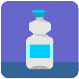 bottle, drink, energy, gas, mineral, water icon