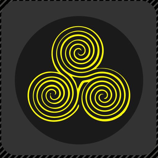esotericum, intricacy, labyrinth, maze, mystic icon