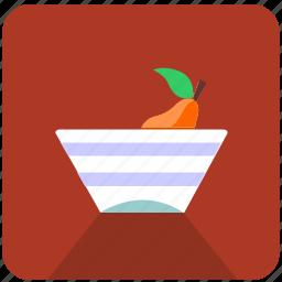diet, eat, food, fruit, home, metro, vase icon