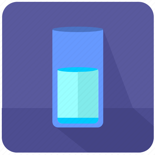 cup, drink, glass, mineral, water icon