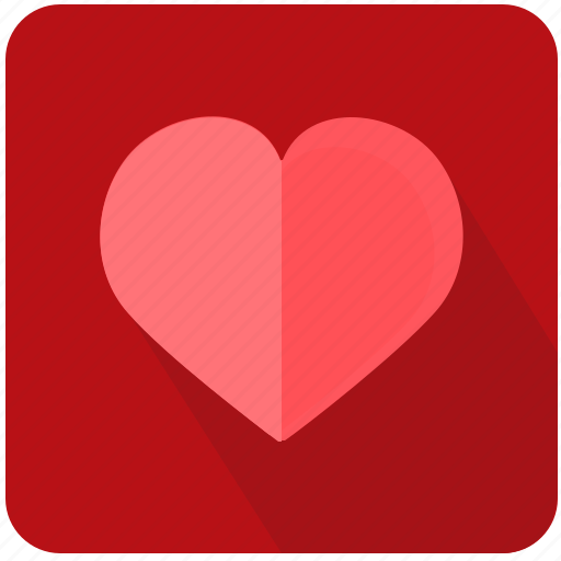 heart, like, love, romantic, social icon