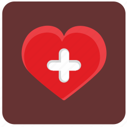heart, med, medicine, plus, treatment icon
