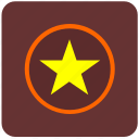 army, cowboy, police, privacy, sign, star icon