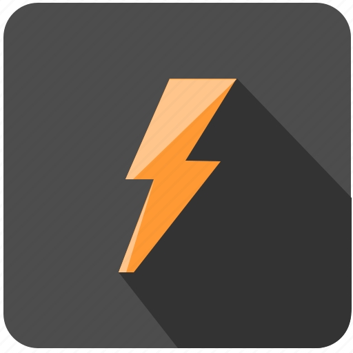 danger, electric, electro, shock icon