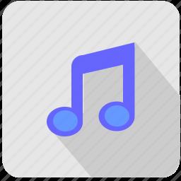 composition, listen, music, note, sound icon