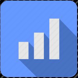 api, chart, data, economics, report, statistics icon