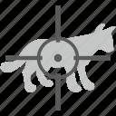 aim, hunter, kill, puma, target, tiger icon