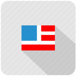 america, american, flag, nation, union, usa icon