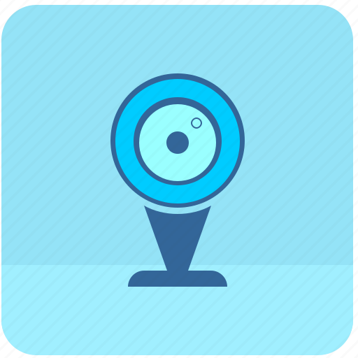 cam, camera, connection, device, skype, video, web icon