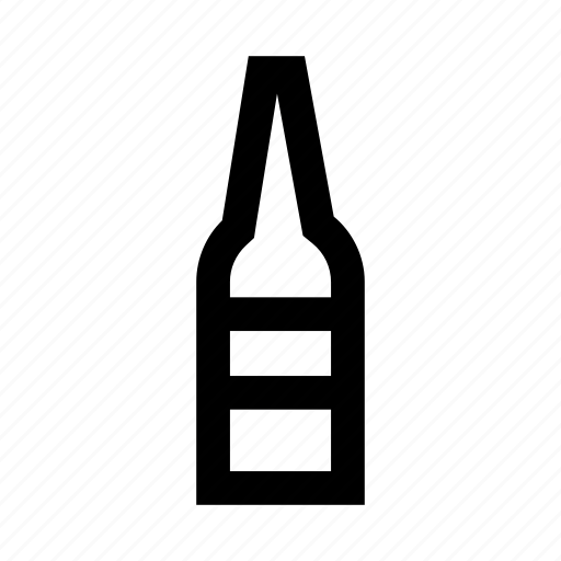 ale, beer, bottle, brew, drinks, grid, icon icon