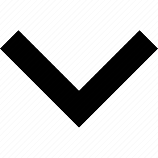 arrow, down, keyboard icon