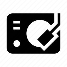 dj, music, party, set, vinyl icon