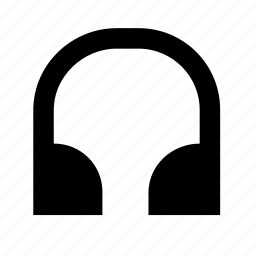 cans, earphones, headset, music, song icon