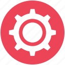 cogwheel, gear, options, setting, setup icon