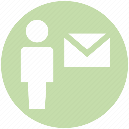 email, envelope, letter, mail, message, people, user icon