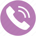 call, calling, communication, contact, landline, phone, telephone icon
