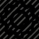 cogwheel, gear, options, setting, setup icon