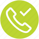 access, call, communication, contact, landline, phone, telephone icon
