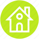 building, home, house, hut, property icon
