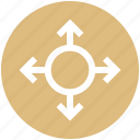 arrows, direction, direction arrows, pointing arrow icon